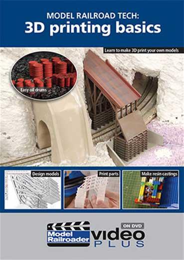 Model Railroading Tech: 3D Printing Basics DVD Kalmbach Publishing 15355 644651600891