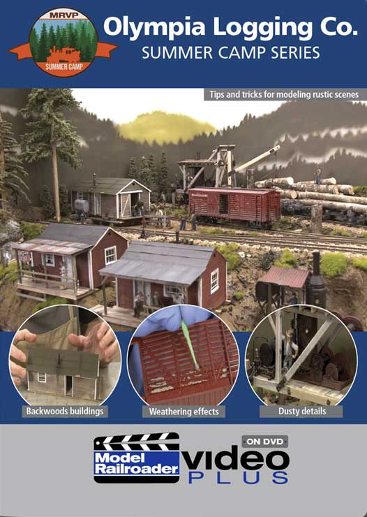 Olympia Logging Co Summer Camp Series DVD Kalmbach Publishing 15372 644651601348