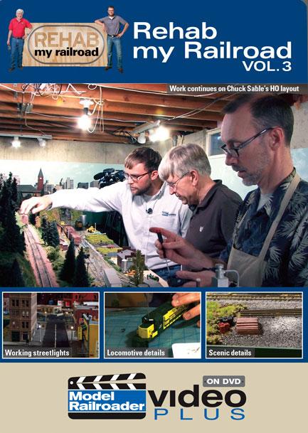 Rehab My Railroad Vol 3 DVD Kalmbach Publishing 15318 644651153182