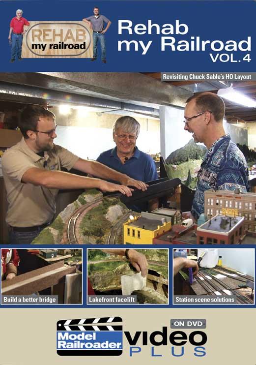 Rehab my Railroad Volume 4 DVD Kalmbach Publishing 15371 644651601331