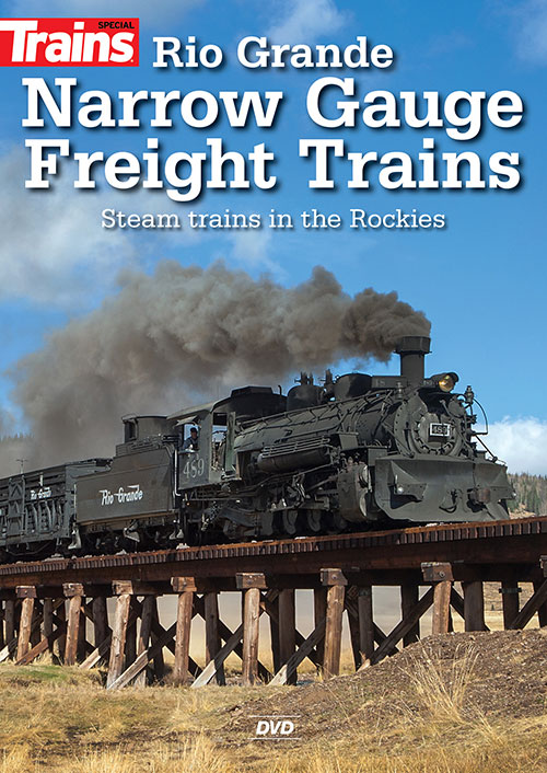 Rio Grande Narrow Gauge Freight Trains DVD Kalmbach Publishing 15344 644651600198
