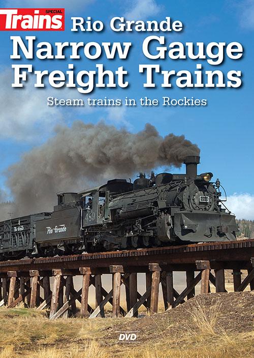Rio Grande Narrow Gauge Freight Trains DVD Kalmbach Publishing 15344 644651600198