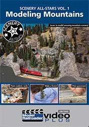 Scenery All-Star Vol 1 - Modeling Mountains DVD