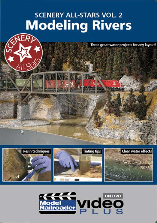 Scenery All-Star Vol 2 - Modeling Rivers DVD Kalmbach Publishing 15350 644651600457