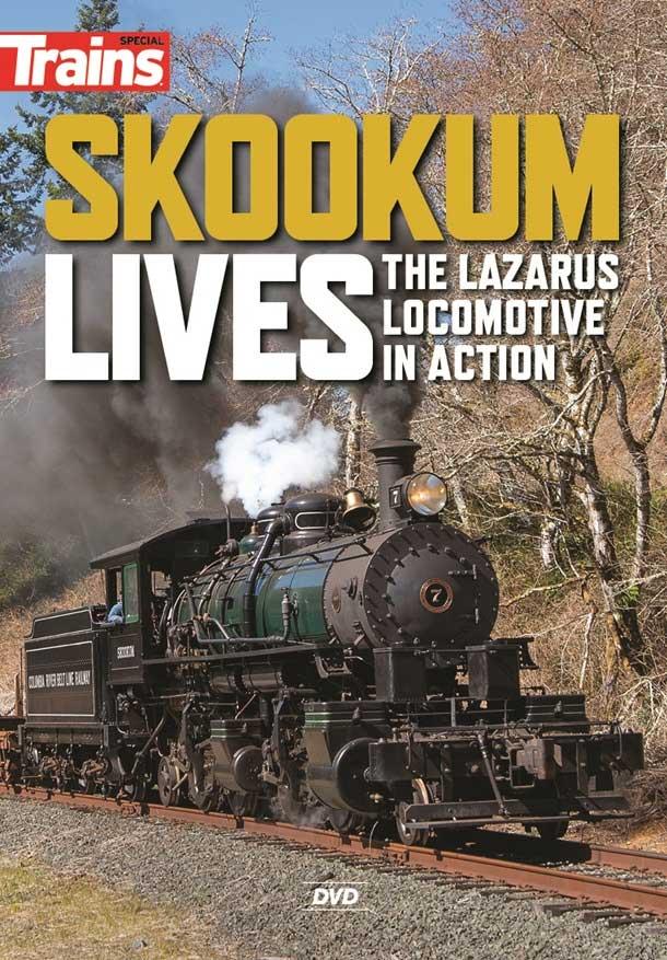 Skookum Lives The Lazarus Locomotive in Action DVD Kalmbach Publishing 15356 644651600914