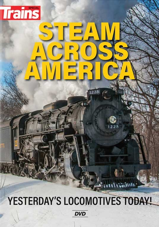Steam Across America DVD Kalmbach Publishing 15370 644651601287