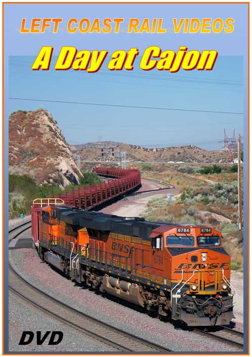 A Day at Cajon DVD Train Video Left Coast Rail Videos LC-ADAC