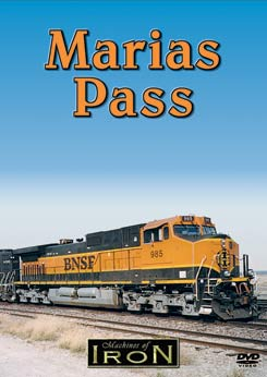 Marias Pass on DVD by Machines of Iron Train Video Machines of Iron MARIASDR