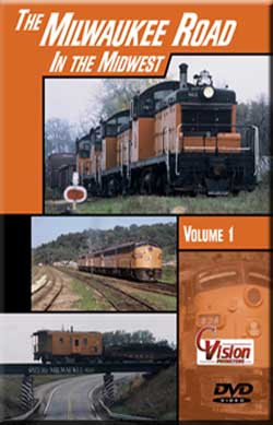 Milwaukee Road in the Midwest Vol 1 DVD C Vision Productions MLW1