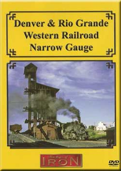 Denver and Rio Grande Western Railroad Narrow Gauge Train Video Machines of Iron DRGNG