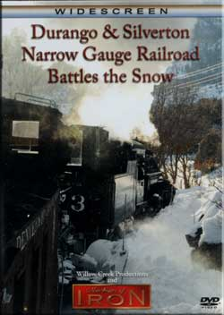 Durango & Silverton Narrow Gauge RR Battles the Snow Train Video Machines of Iron FLANGERDR