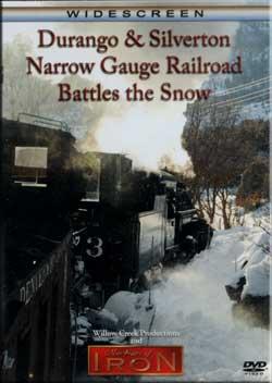 Durango & Silverton Narrow Gauge RR Battles the Snow Machines of Iron FLANGERDR
