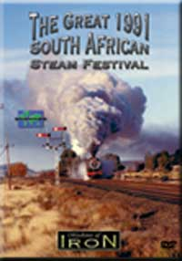 Great South African Steam Festival 1991 DVD Machines of Iron Train Video Machines of Iron MOI-010