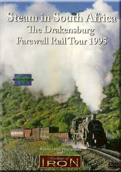 Steam in South Africa the Drakensburg Farewell Tour Train Video Machines of Iron SA1995