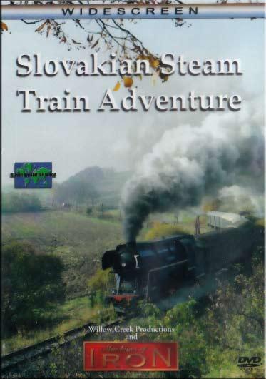 Slovakian Steam Train Adventure DVD Machines of Iron SLOVAKIADVD