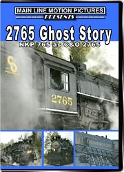 2765 Ghost Story NKP 765 as C&O 2765 DVD