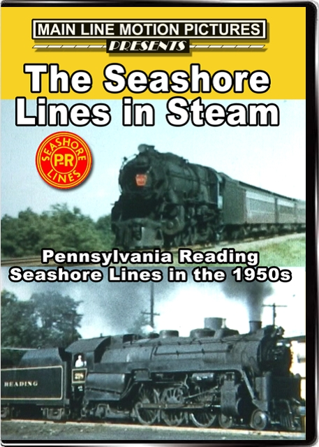 Seashore Lines in Steam DVD Train Video Main Line Motion Pictures MLPRSL