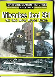Milwaukee Road 261 on the New River Train DVD