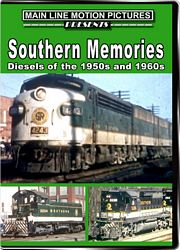 Southern Memories Diesels of the 1950s and 1960s DVD
