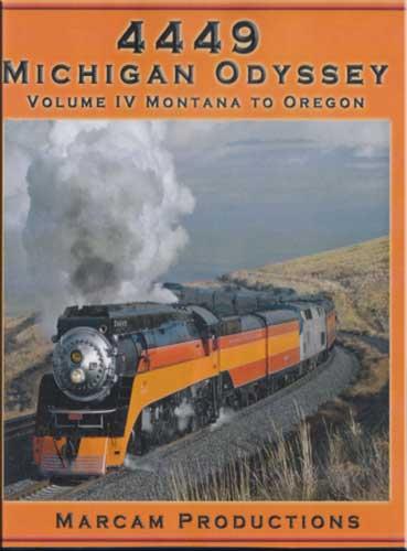 4449 Michigan Odyssey Vol 4 Montana to Oregon DVD Marcam Productions 4449MICHV4DVD 850075002177