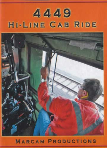 4449 Hi-Line Cab Ride DVD Train Video Marcam Productions 4449MICHV5DVD 850075002184