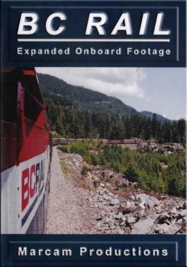BC Rail Expanded Onboard Coverage DVD Train Video Marcam Productions BCREOF