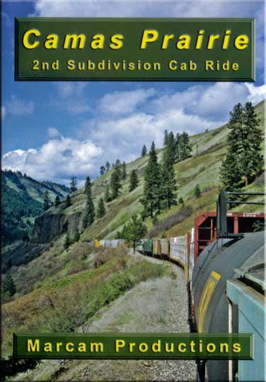 Camas Prarie 2nd Subdivision Cab Ride DVD Train Video Marcam Productions CSPCR