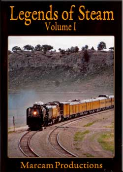 Legends of Steam Vol 1 DVD UP 844 Marcam Productions LOS1DVD 737885360195