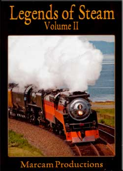 Legends of Steam Vol 2 DVD SP 4449 & UP 844 Train Video Marcam Productions LOS2DVD 737885359991