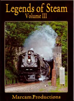Legends of Steam Vol 3 DVD UP 844 Train Video Marcam Productions LOS3DVD 737885360096