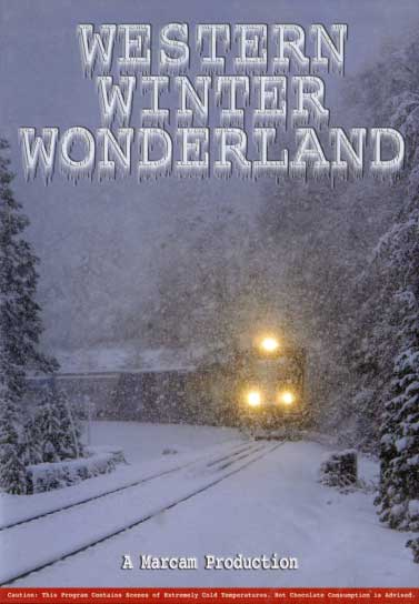 Western Winter Wonderland DVD Train Video Marcam Productions WWWDVD 737885452098