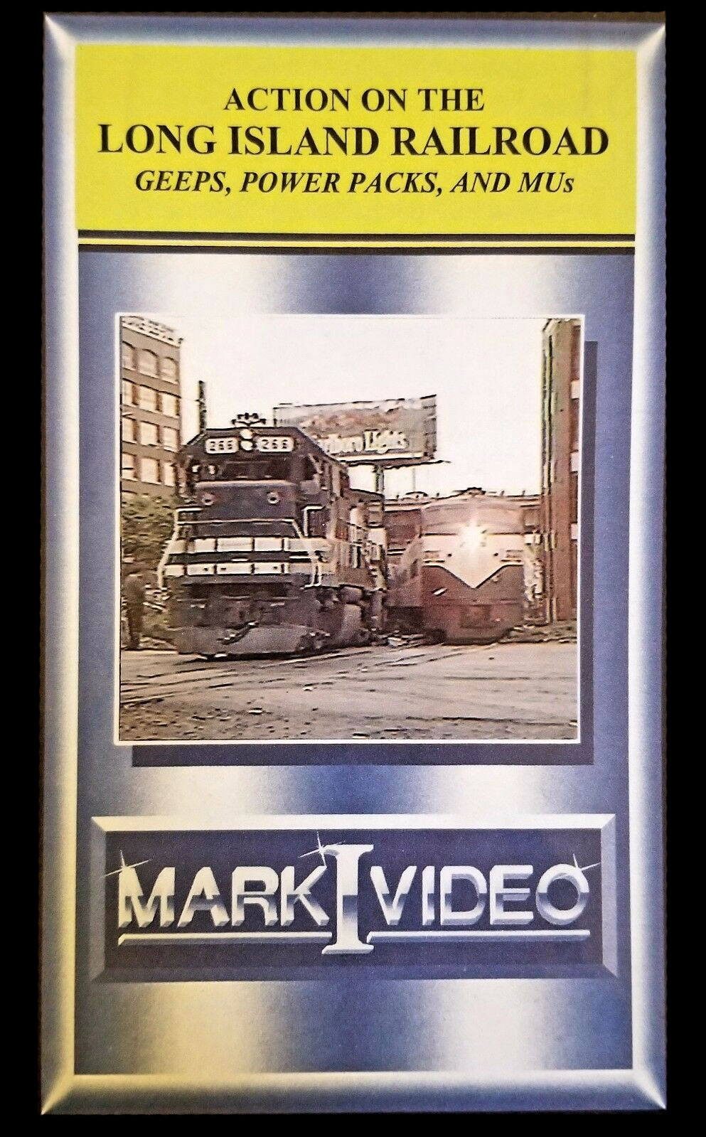 Action on the Long Island Railroad Geeps Power Packs and MUs DVD Mark I Video M1ALIR
