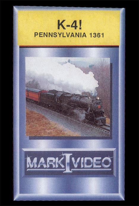 K-4 Pennsylvania 1361 DVD Mark I Video M1K4PR