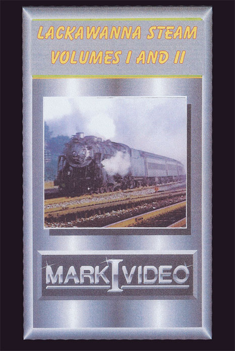 Lackawanna Steam Volumes 1 and 2 DVD Mark I Video M1LS12