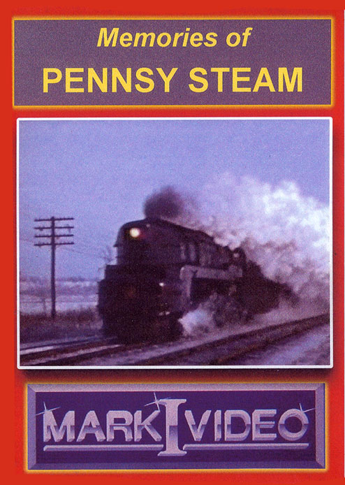 Memories of Pennsy Steam DVD Mark I Video M1MOPS
