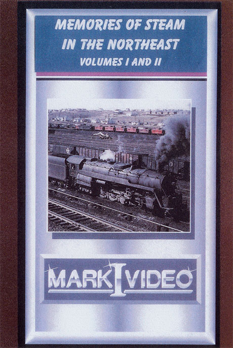 Memories of Steam in the Northeast Volumes 1 & 2 DVD Mark I Video M1MS12