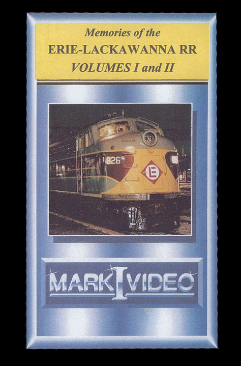 Memories of the Erie Lackawanna Volumes 1 and 2 DVD Mark I Video M1ELV12