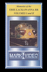 Memories of the Erie Lackawanna Volumes 1 and 2 DVD