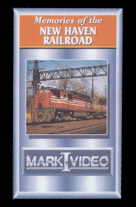 Memories of the New Haven Railroad DVD Mark I Video M1MNHR