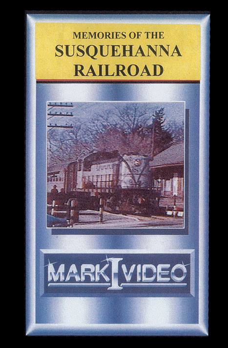 Memories of the Susquehanna Railroad DVD Mark I Video M1MOSR