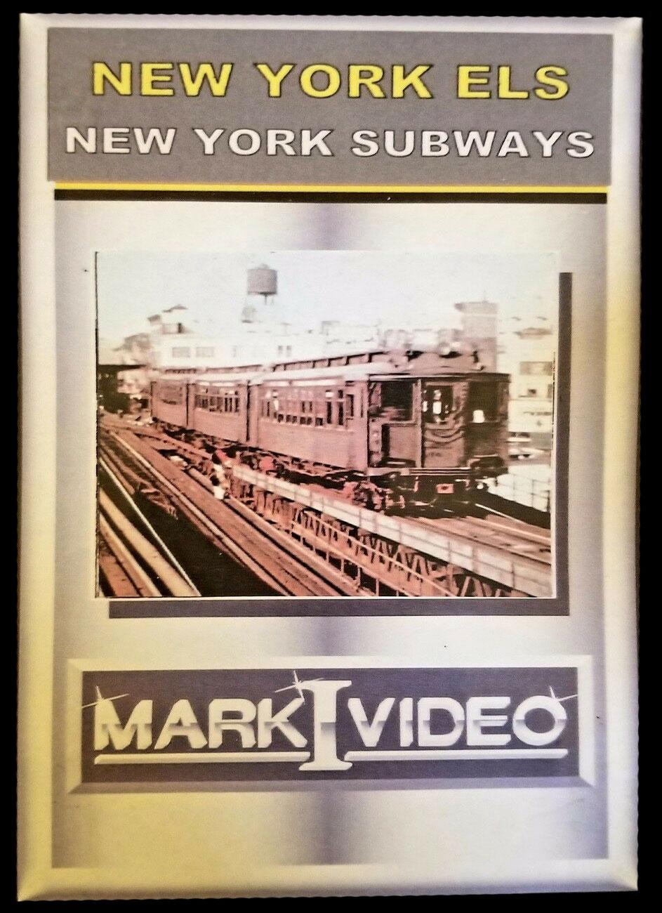 New York ELs and New York Subways DVD Mark I Video M1NYLS
