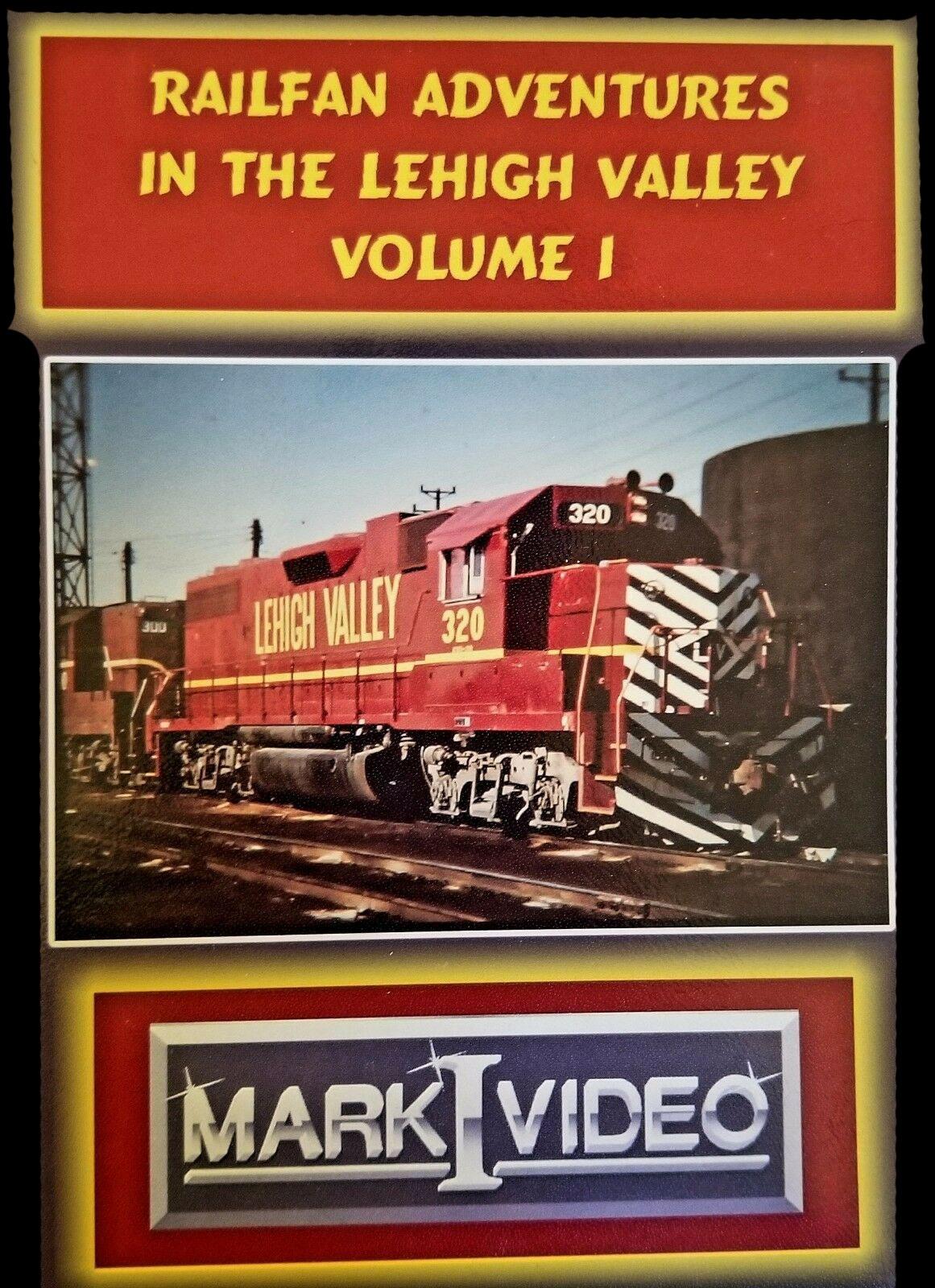 Railfan Adventures in the Lehigh Valley Volume 1 DVD Mark I Video M1RALV1