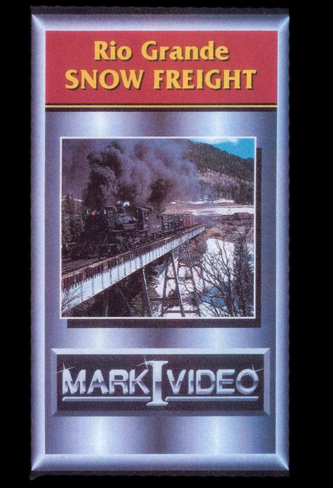 Rio Grande Snow Freight DVD Mark I Video M1RGSF