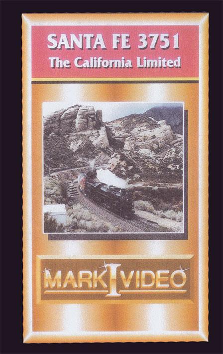 Santa Fe 3751 The California Limited DVD Mark I Video M13751