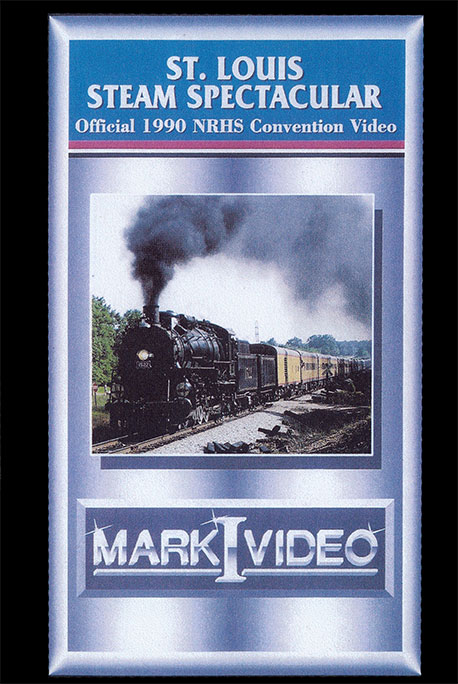St Louis Steam Spectacular Official 1990 Convention Video DVD Mark I Video M1SSSS