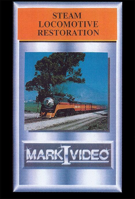 Steam Locomotive Restoration DVD Mark I Video M1STLR