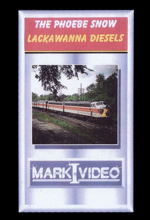 The Phoebe Snow Lackawanna Diesels DVD Mark I Video M1PSLD