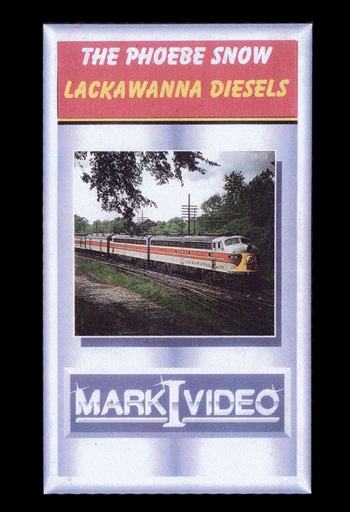 The Phoebe Snow Lackawanna Diesels DVD Mark I Video M1PSLD