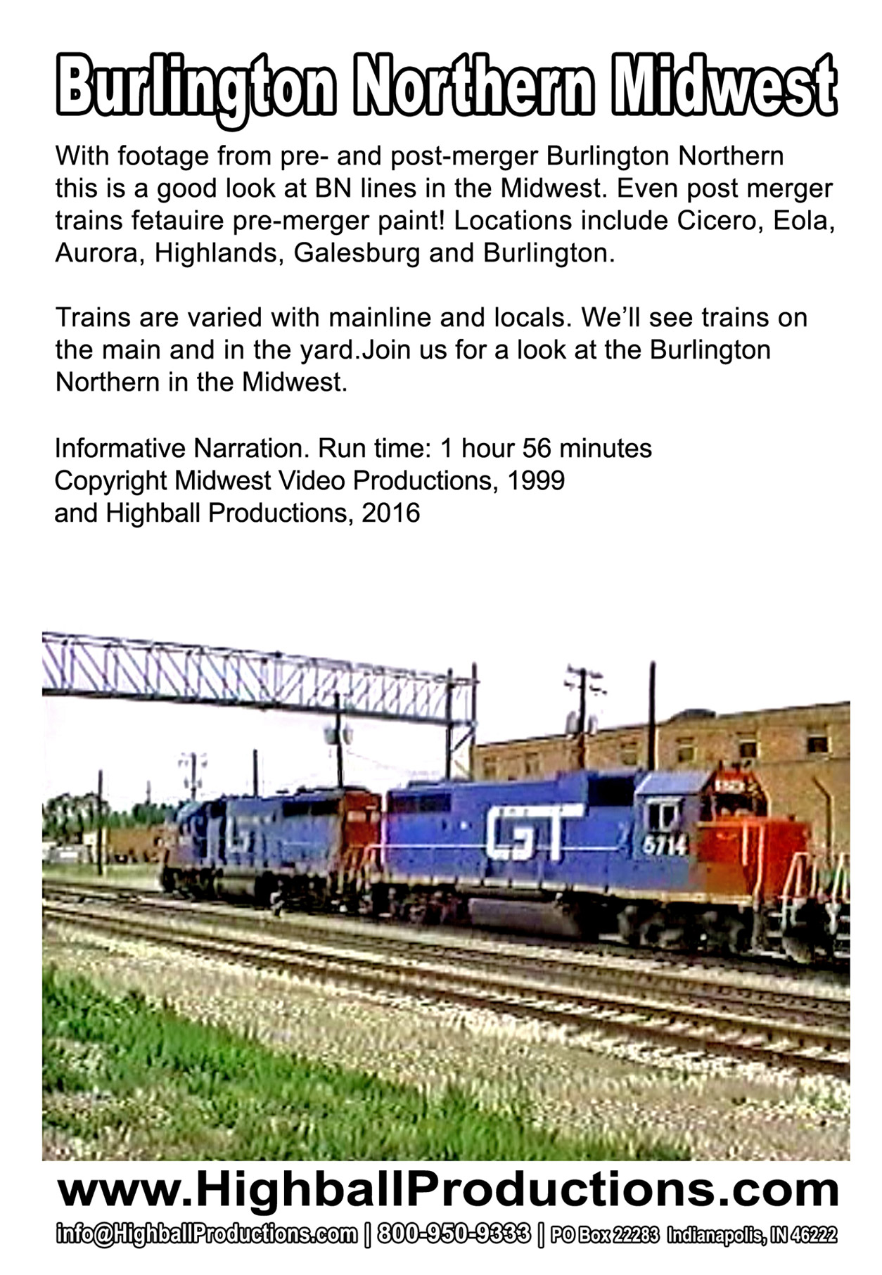 Best Of Burlington Northern Midwest