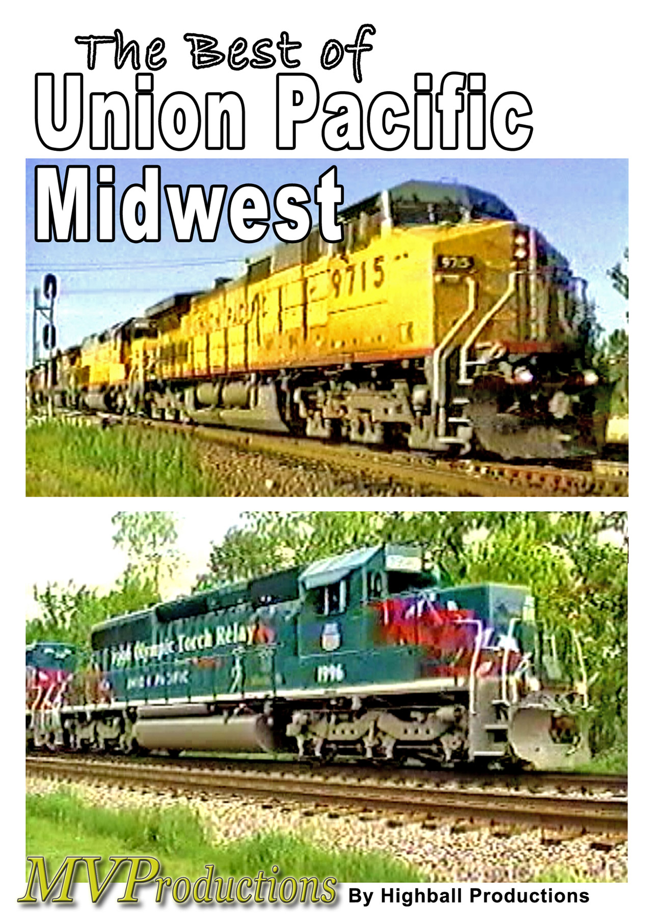 Best of Union Pacific - Midwest Train Video Midwest Video Productions MVBUP 601577880288